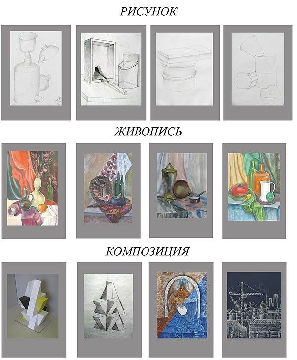 Пособие по композиции рисунка